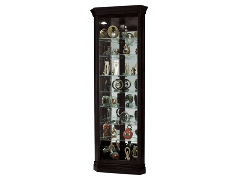 Howard Miller Clock Co. - Duane Display Cabinet - 680-487