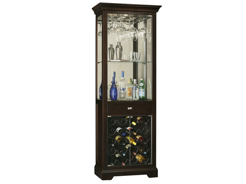 Howard Miller Clock Co. - Gimlet Wine and Bar Cabinet - 690-005