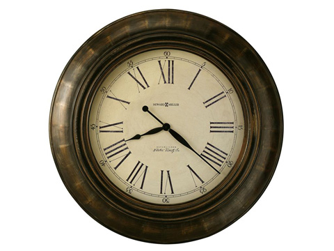 Howard Miller Clock Co. - Brohman Wall Clock - 625-618