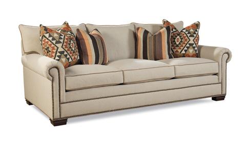 Huntington House - Upholstered Three Cushion Sofa - 7107-80