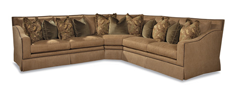 Huntington House - Three Piece Sectional - 3366 SECTIONAL