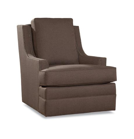 Huntington House - Swivel Chair with Nailhead Trim - 7202-56