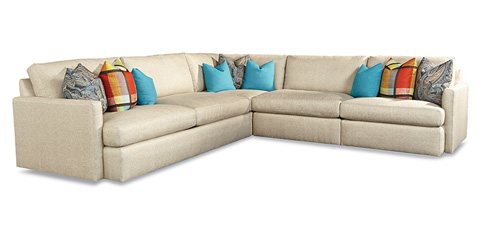 Huntington House - Three Piece Sectional - 7230-SECT