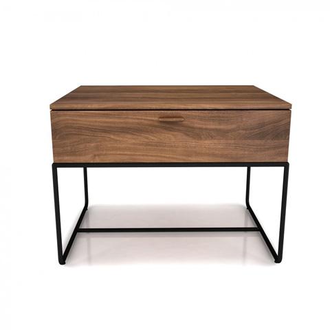 Huppe - One Drawer Nightstand - 02343M