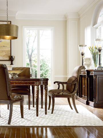 Henredon - Scroll Back Side Chair - 2706-28