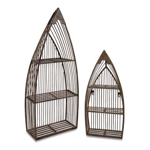 IMAX Worldwide Home - Nesting Boat Shelves - Set of 2 - 10667-2