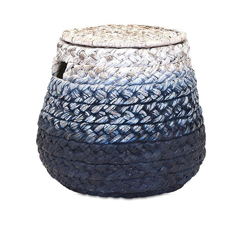 IMAX Worldwide Home - Cascade Woven Water Hyacinth Basket - 11600