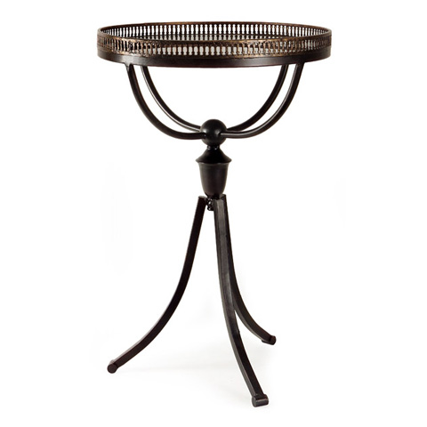 IMAX Worldwide Home - Empire Gallery Tri-Footed Table - 12224