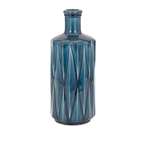 IMAX Worldwide Home - Alena Blue Large Vase - 13306