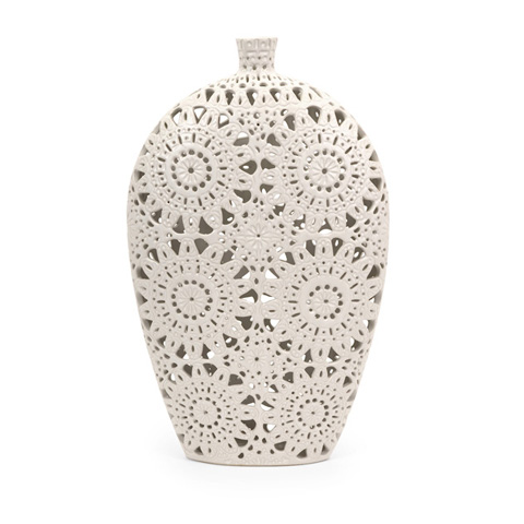 IMAX Worldwide Home - Large Lacey Vase - 1509
