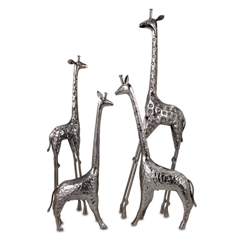 IMAX Worldwide Home - Safari Giraffe Herd - Set of 4 - 60960-4