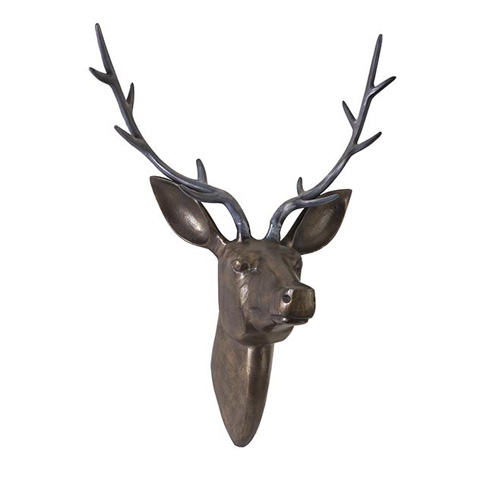 IMAX Worldwide Home - Goodwin Aluminum Deer Head - 60975