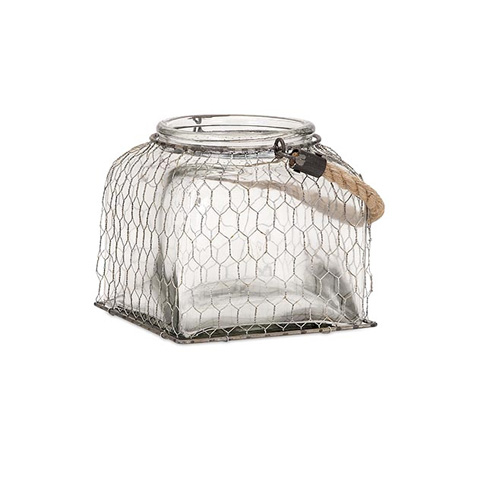 IMAX Worldwide Home - Foley Wire Cage Jar - Small - 65271