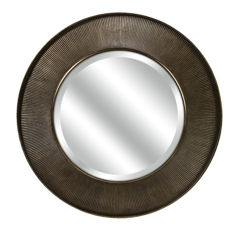 IMAX Worldwide Home - CKI Harcourt Round Wall Mirror - 70373
