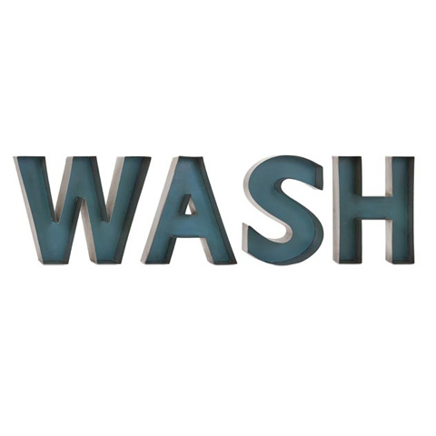 IMAX Worldwide Home - Wash Metal Wall Decor - 72164