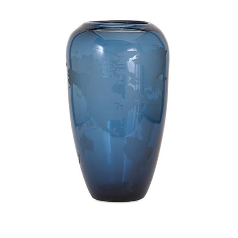 IMAX Worldwide Home - Beth Kushnick Global Large Glass Vase - 73258