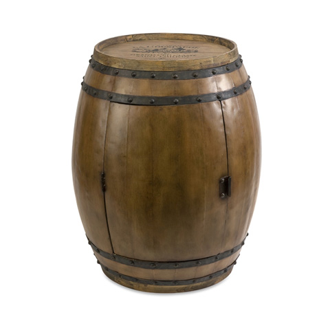 IMAX Worldwide Home - Napa Barrel Table - 74211