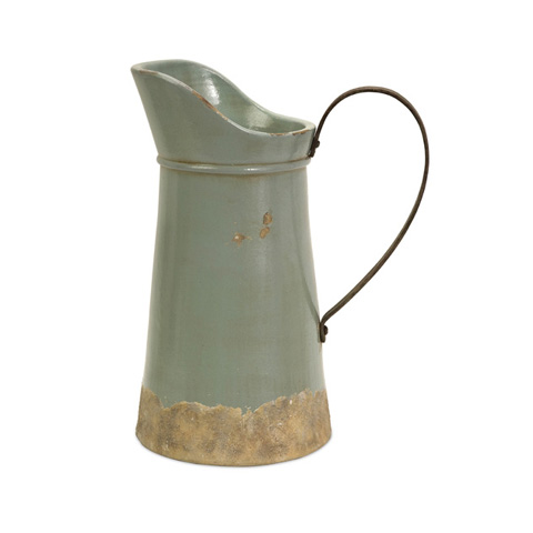 IMAX Worldwide Home - Calista Tall Pitcher with Metal Handle - 76002