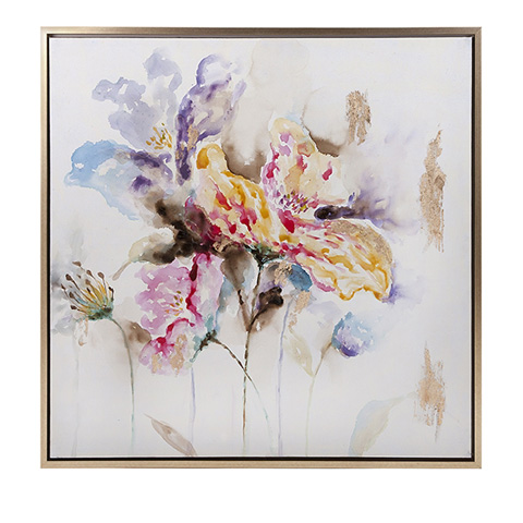 IMAX Worldwide Home - Delicate Framed Oil Painting - 76281