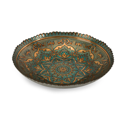 IMAX Worldwide Home - Ravenna Glass Bowl - 83119