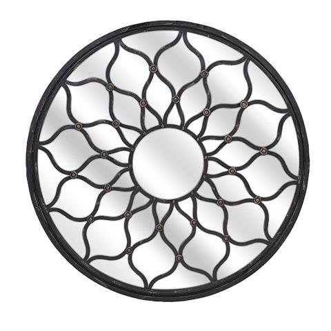IMAX Worldwide Home - Maske Iron Mirror - Round - 85815