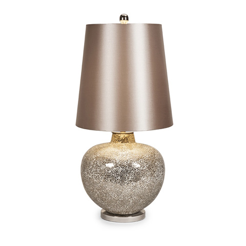 IMAX Worldwide Home - Corinth Mosaic Glass Oversized Lamp - 86609