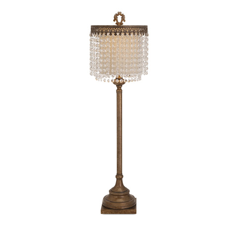 IMAX Worldwide Home - Maeveen Crystal Beaded Table Lamp - 86614