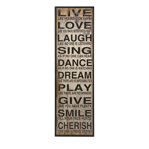IMAX Worldwide Home - Live Love Laugh Wall Decor - 89006