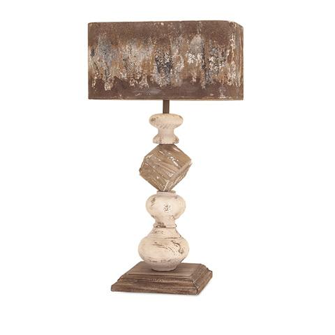 IMAX Worldwide Home - Brook Wood and Metal Table Lamp - 89386