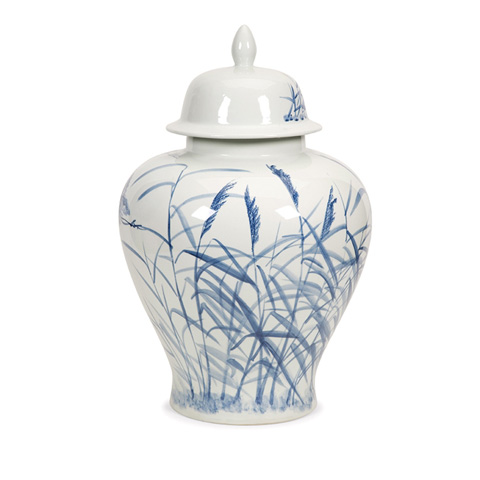 IMAX Worldwide Home - Tollmache Large Lidded Urn - 89849