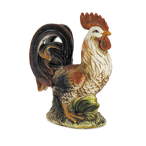 IMAX Worldwide Home - Multicolored Rooster - 9150