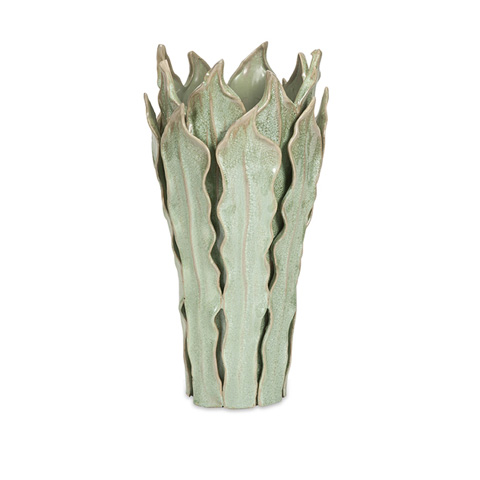 IMAX Worldwide Home - Watkins Large Sea Leaf Vase - 25251