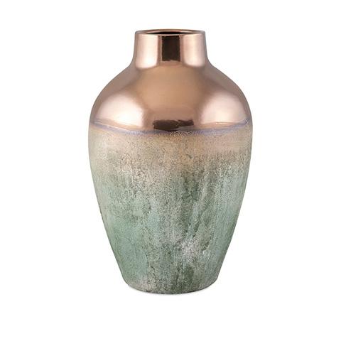 IMAX Worldwide Home - Hargrove Large Metallic Top Vase - 25308