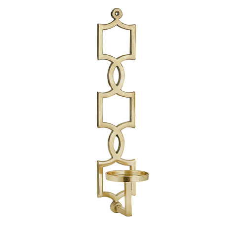 IMAX Worldwide Home - Sadie Gold Wall Sconce - 60302
