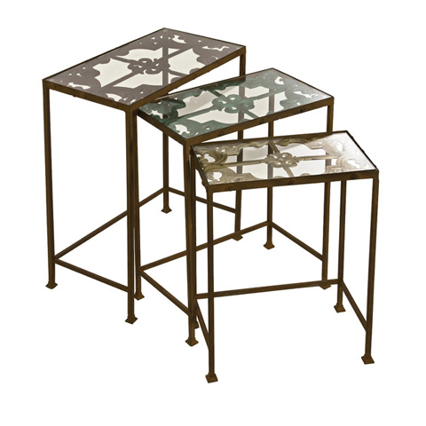IMAX Worldwide Home - Torry Nested Tables - Set of 3 - 74045-3