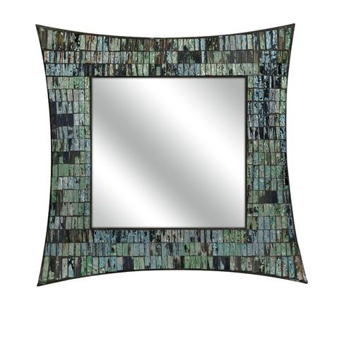 IMAX Worldwide Home - Aramis Mosaic Glass Wall Mirror - 96108