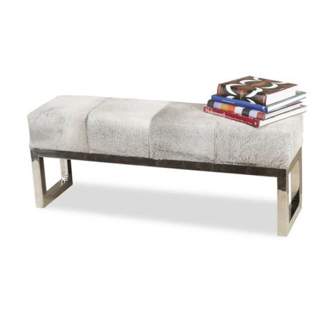 Interlude Home - Moro Hide Bench - 145036