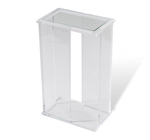 Interlude Home - Mercer Rectangular Drink Table - 158082