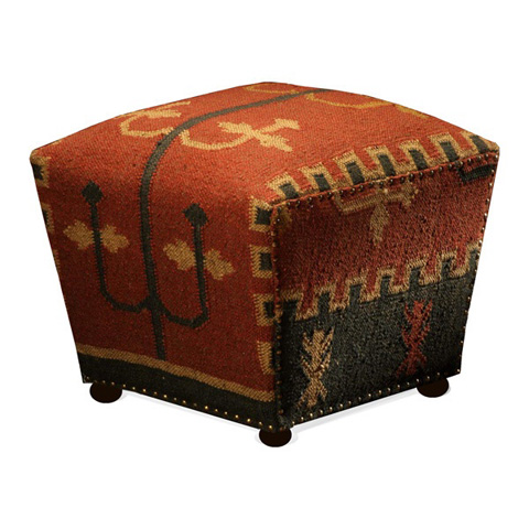Interlude Home - Mtn. Ray Cube Ottoman - 173800