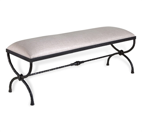 Interlude Home - Remy Forged Bench - 178022