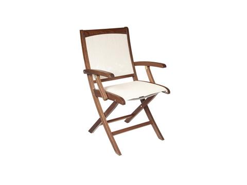 Jensen Leisure Furniture - Topaz Folding Ponderosa Sling Chair - 6201P