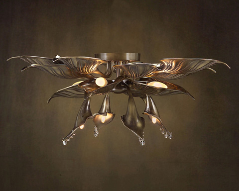 John Richard Collection - Eight Light Flush Mount - AJC-8587