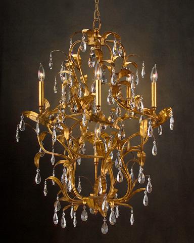 John Richard Collection - Six Light Chandelier - AJC-8649