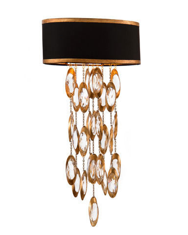 John Richard Collection - Two Light Black Tie Sconce - AJC-8796