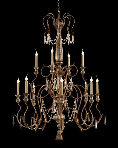 John Richard Collection - Twelve Light Stately Crystal Chandelier - AJC-8842