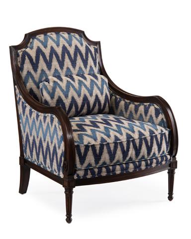 John Richard Collection - Upholstered Arm Chair - AMF-1014V18-2023-AS