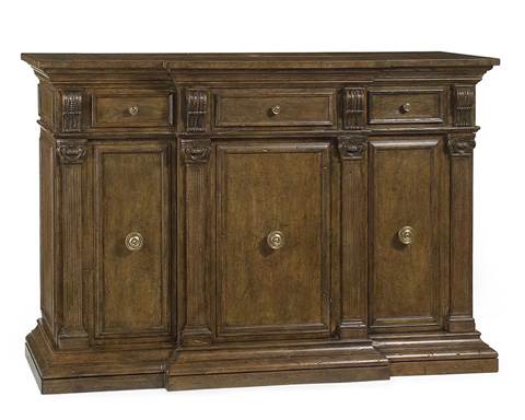 John Richard Collection - Italian Carved Credenza - EUR-04-0045