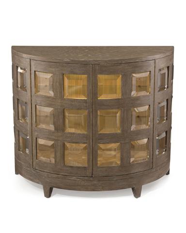 John Richard Collection - Luxe Demilune Cabinet - EUR-04-0221
