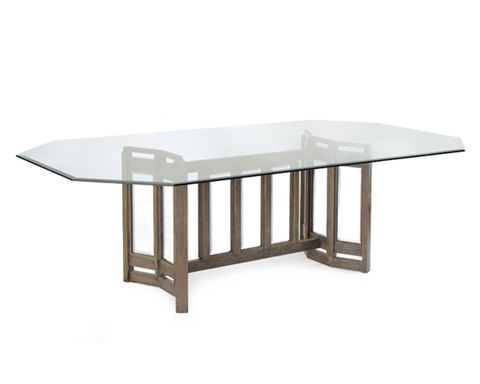 John Richard Collection - Luxe Dining Table - EUR-10-0044