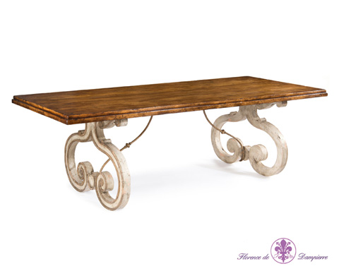John Richard Collection - Biot Dining Table - EUR-10-0053